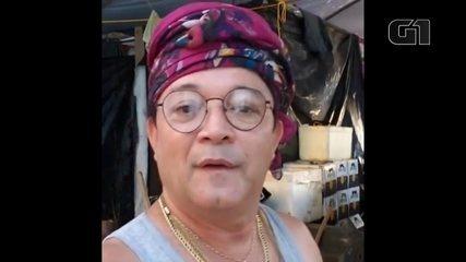 Cantor Wanderley Andrade faz show em garimpo ilegal em Roraima