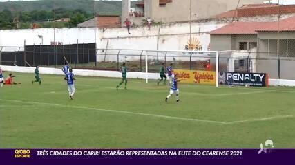 Série A do Campeonato Cearense terá três times do Cariri em 2021
