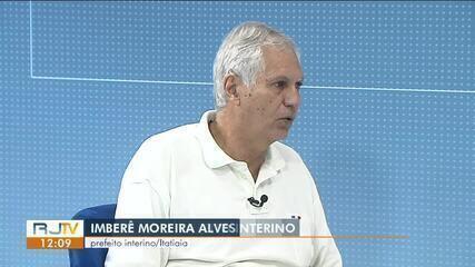 RJ1 entrevista prefeito interino de Itatiaia, Imberê Moreira