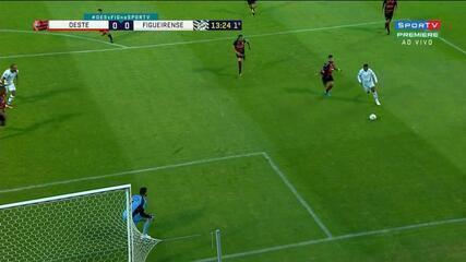 Melhores momentos: Oeste 2 x 1 Figueirense, pela 32ª rodada da Série B