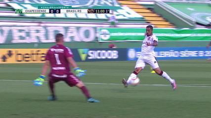 Melhores momentos de Chapecoense 0 x 0 Brasil de Pelotas pela 32ª rodada da Série B 2020