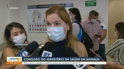 Comissão do Ministério da Saúde visita unidade em Manaus