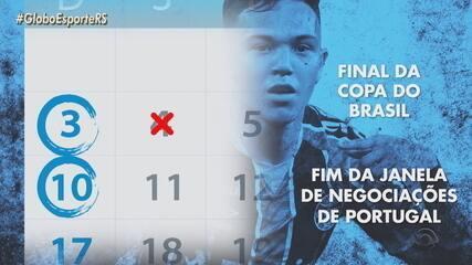 Pepê vira alvo do Porto, mas Grêmio nega ter proposta oficial pelo atacante