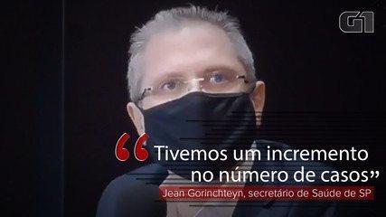 VÍDEO: 'Tivemos um incremento no número de casos', diz Jean Gorinchteyn sobre Covid em SP