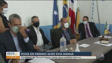 Presidente da Câmara assume interinamente prefeitura de Firmino Alves