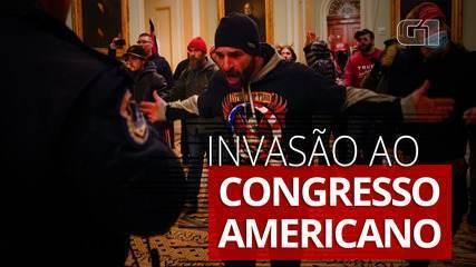 Apoiadores de Trump invadem o Congresso dos EUA