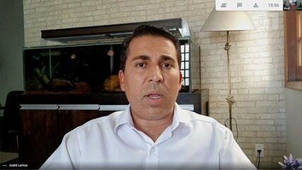André Lemos falou, entre outros assuntos, sobre o time de futsal da cidade