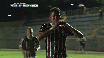 João Neto marcou um golaço na semifinal contra o Atlético-MG; assista