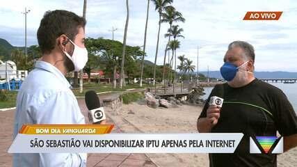 São Sebastião vai disponibilizar IPTU apenas pela interet