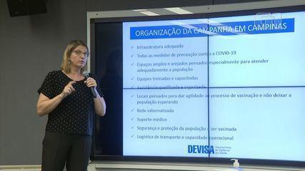 Campinas apresenta plano de vacinação contra Covid-19