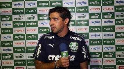 Veja a coletiva de Abel Ferreira após vitória o Palmeiras sobre o Sport