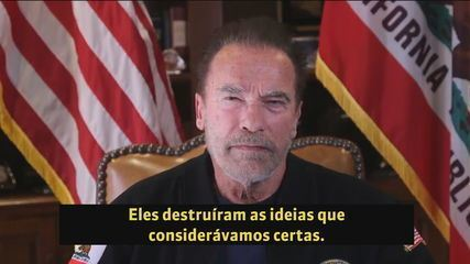 Arnold Schwarzenegger chama Trump de mentiroso em vídeo