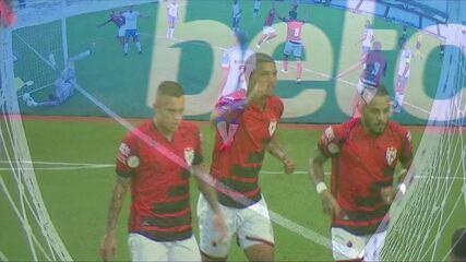 Os gols de Atlético-GO 1 x 1 Bahia, pela 29ª rodada do Brasileirão