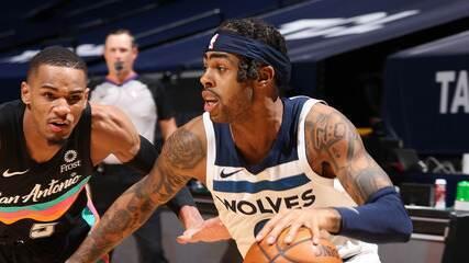 Melhores momentos: Minnesota Timberwolves 96 x 88 San Antonio Spurs pela NBA