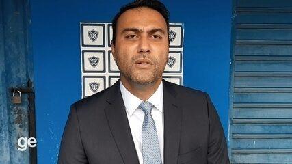 Rodolfo do Carmo, novo presidente do Vitória-ES, fala do desafio de comandar o clube