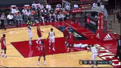 DeMarcus Cousins e Markieff Morris são expulsos no jogo entre Lakers e Houston