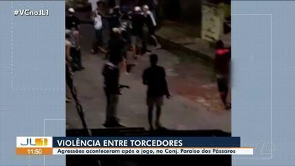 Violência entre torcedores marca pós-jogo entre Remo e Paysandu em Belém