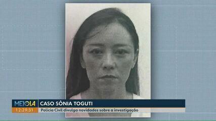Polícia Civil divulga novidades sobre a investigação da morte de Sônia Toguti, em Cascavel