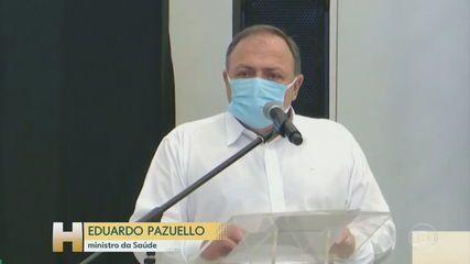 Ministro da Saúde promete ajuda ao Amazonas, que enfrenta a 2ª onda da Covid-19