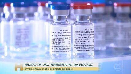 Anvisa analisa documentação do pedido de uso emergencial da vacina da Oxford