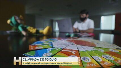 Brasileños planean viaje a los Juegos Olímpicos de Tokio