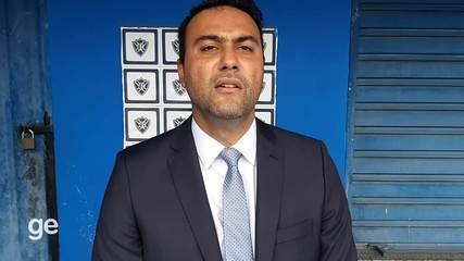 Novo presidente do Vitória-ES revela que está renegociando com os apoiadores do clube