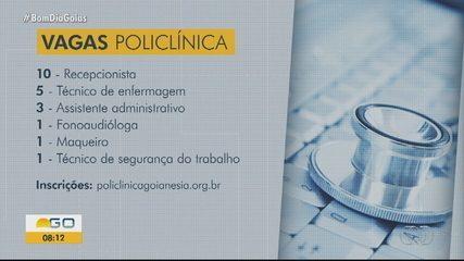 Policlínica é inaugurada em Goianésia