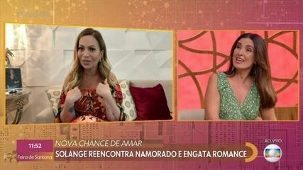 Solange Almeida reencontra ex e engata romance