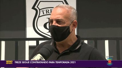 Presidente do Treze fala sobre os planos do clube para a temporada 2021