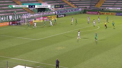 Melhores momentos: Chapecoense 2 x 1 Figueirense, pela 34ª rodada do Brasileirão Série B
