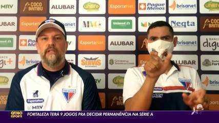 Fortaleza tem nove jogos para decidir permanência na Série A de 2020