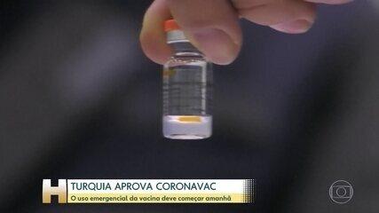 Turquia aprova uso emergencial da CoronaVac