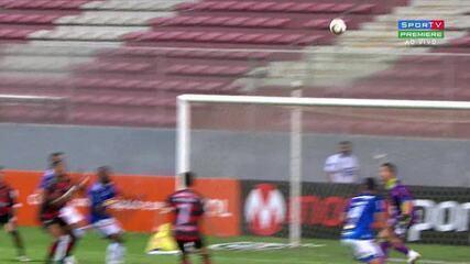 Veja o gol de Cruzeiro 0 x 1 Oeste pela Série B do Campeonato Brasileiro