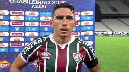 """Danilo Barcelos diz que jogadores do Fluminense vão precisar """"ter vergonha na cara"""" após goleada"""