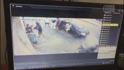 Grupo é assaltado por homens armados em frente à unidade de Saúde em São Vicente, SP
