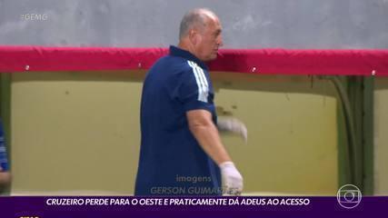 Felipão mostrou grande insatisfação após a derrota para o Oeste, na semana passada