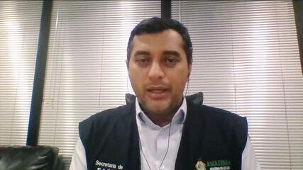 Governador do Amazonas fala sobre colapso na saúde de Manaus