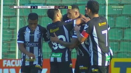Veja os melhores momentos de Figueirense 3x0 Brasil de Pelotas pela 35ª rodada da Série B