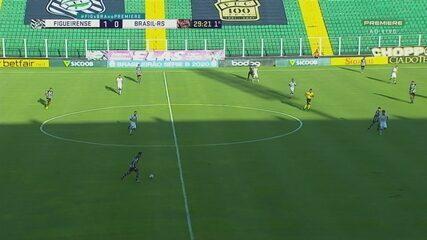 Veja os gols de Figueirense 3x0 Brasil de Pelotas pela 35ª rodada da Série B
