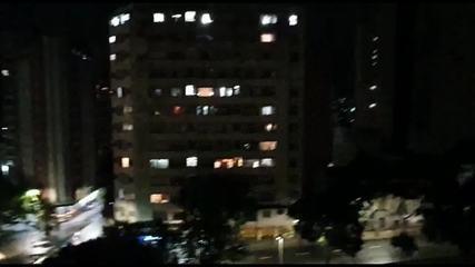 Panelaço contra Bolsonaro no Centro de Belo Horizonte
