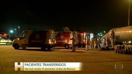 São Luís recebe pacientes de Manaus
