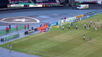 Melhores momentos: Fluminense 1 x 0 Sport, pela 30ª rodada do Brasileirão