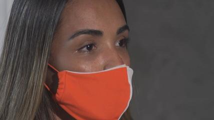 Ex de Nego do Borel, Swellen Sauer diz que foi agredida por ele: 'Soco na costela'