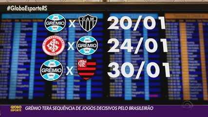 Grêmio tem série de jogos decisivos em Porto Alegre para se manter na briga por título