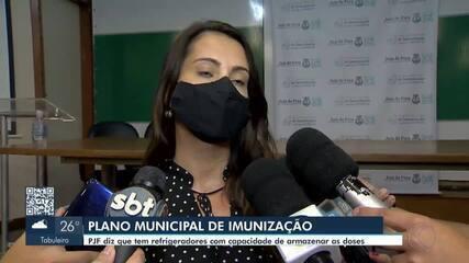 Prefeitura divulga plano de vacinação contra a Covid-19 em Juiz de Fora