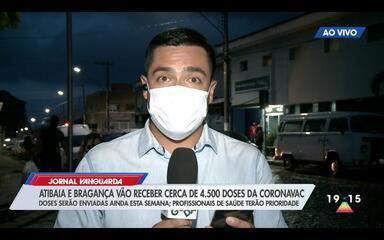 Bragança Paulista e Atibaia devem receber 4,5 mil doses da vacina contra Covid-19