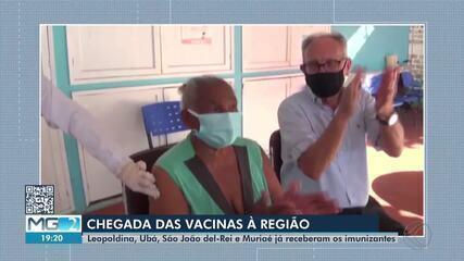 Cidades da Zona da Mata e Vertentes iniciam vacinação contra a Covid-19