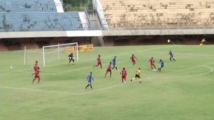 Os gols de Palmas 2 x 0 Real Noroeste, pela Copa Verde 2020
