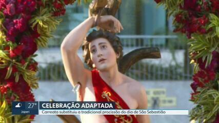 Celebração de São Sebastião é adaptada por causa da pandemia