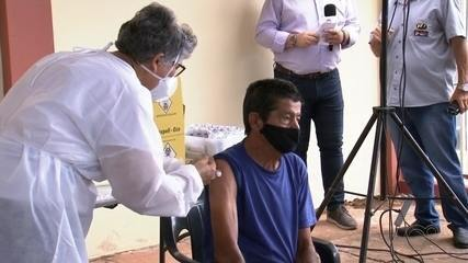 Tupã inicia vacinação contra Covid-19 pelos funcionários da Santa Casa